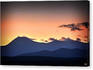 Katahdin Sunset Canvas Print