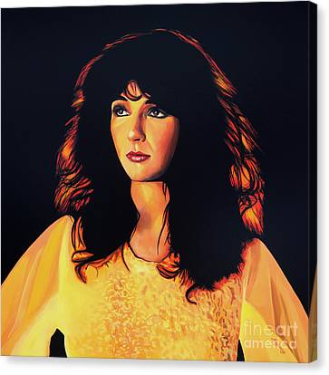 Kate Bush Painting Canvas Print by Paul Meijering