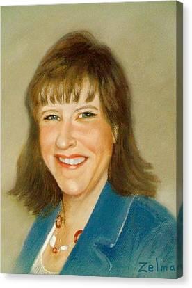 Kathleen Canvas Print by Zelma Hensel
