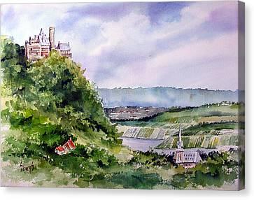 Katz Castle Canvas Print