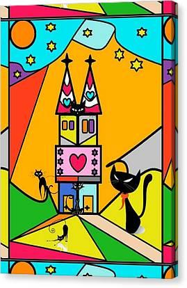 Katzenjammer By Nico Bielow Canvas Print