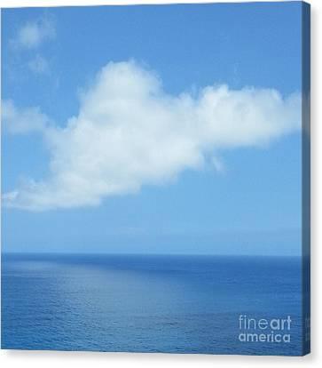Canvas Print featuring the photograph Kauai Blue by Joseph J Stevens