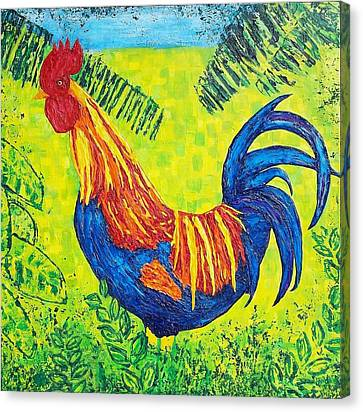Kauai Rooster Canvas Print