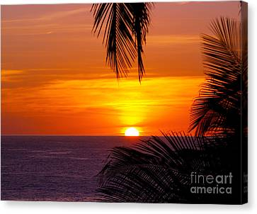 Kauai Sunset Canvas Print by Patricia Griffin Brett
