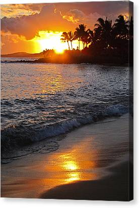 Kauai Sunset Canvas Print by Shane Kelly