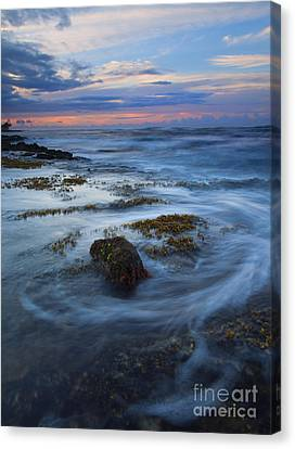 Kauai Tides Canvas Print by Mike  Dawson