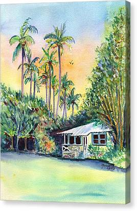 Kauai West Side Cottage Canvas Print by Marionette Taboniar