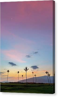 Kauhale Makai Sunset Canvas Print