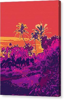 Kauluwela Moku 18 Canvas Print by Kenneth Grzesik