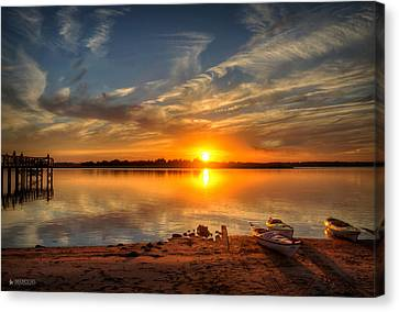 Kayaker's Dream Canvas Print by Phil Mancuso