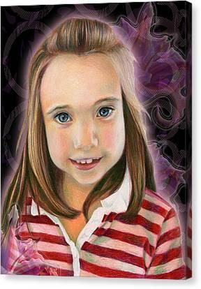 Kaylee Canvas Print by Heather Raven Illingworth