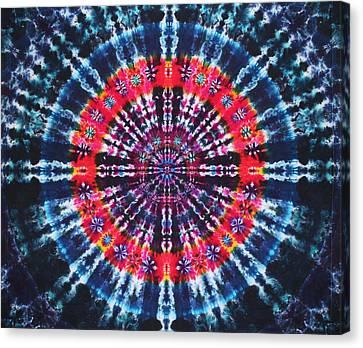 Kazamm Mandala Canvas Print by Courtenay Pollock