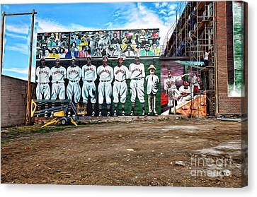 Kc Monarchs - Baseball Canvas Print