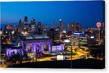 Kcmo Union Station Canvas Print