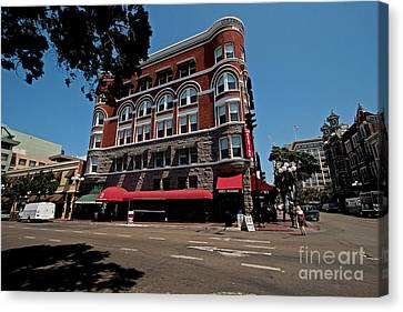 Keating Hotel Canvas Print by Russell Christie