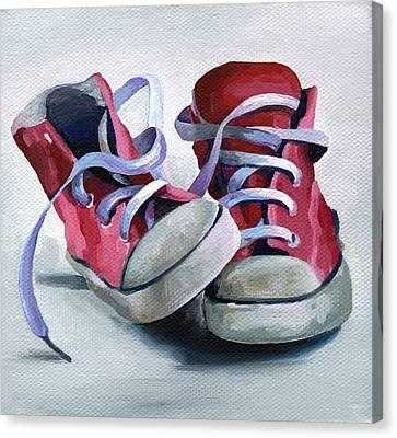 Keds Canvas Print by Natasha Denger