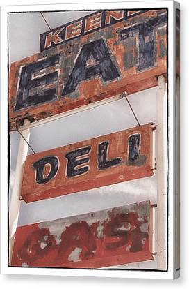 Keene Cafe Canvas Print