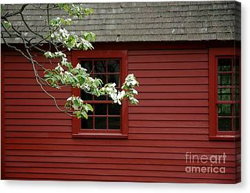 Canvas Print featuring the photograph Keeney School House by Christiane Hellner-OBrien