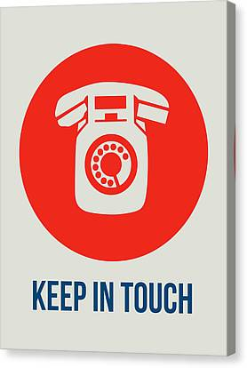 Keep In Touch 2 Canvas Print by Naxart Studio