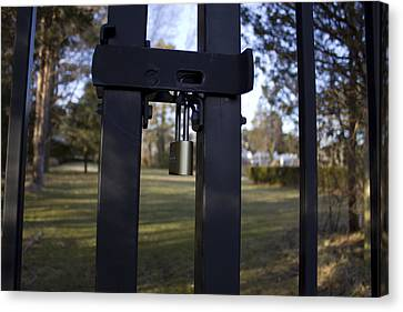 Keep Out  Canvas Print by Eugene Bergeron