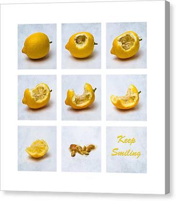 Keep Smiling Canvas Print by Alexander Senin