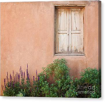 Keep The Summer Heat Out Canvas Print