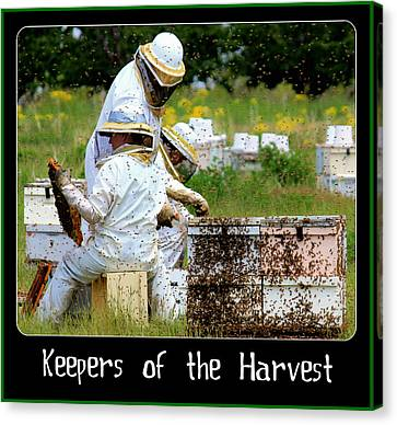 Keepers Of The Harvest Canvas Print