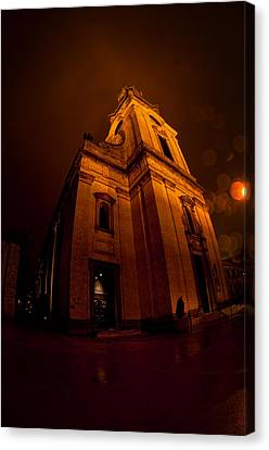 Keeping Out The Darkness Canvas Print by Tim Gumz