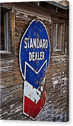 Keeping The Standard High Canvas Print