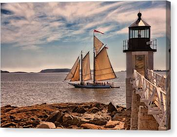 Canvas Print - Keeping Vessels Safe by Karol Livote