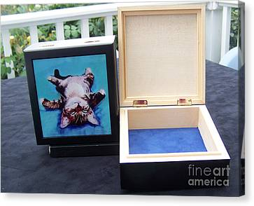 Keepsake Box Canvas Print by Pat Saunders-White
