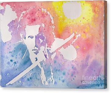Keith Canvas Print by Robert Nipper
