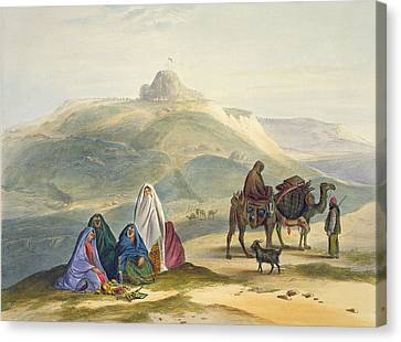 Goat Canvas Print - Kelaut-i-chiljie, Plate 8 From Scenery by James Rattray