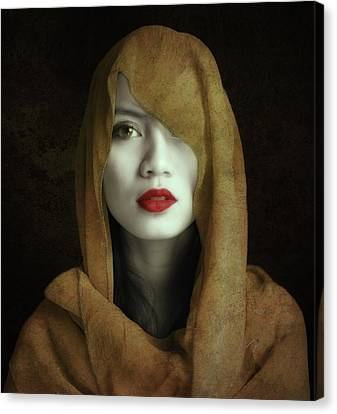 Kemuning Canvas Print by Hari Sulistiawan