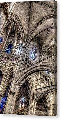 Ken Follets Cathedral No2 Canvas Print by Weston Westmoreland