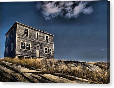 Kendell Store Pushthrough Nl Canvas Print by Douglas Pike