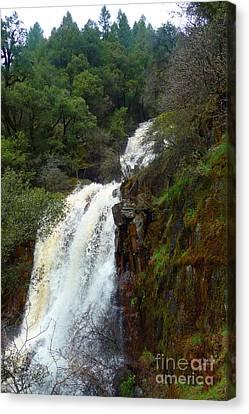Kenebec Creek Falls Canvas Print by Joshua Greeson