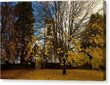 Canvas Print featuring the photograph Kenmore Church by Stephen Taylor