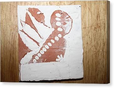 Kenna - Tile Canvas Print by Gloria Ssali