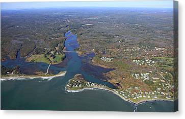 Kennebunk, Main Canvas Print by Dave Cleaveland