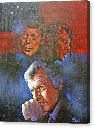 Kennedy's Canvas Print by Gary McLaughlin