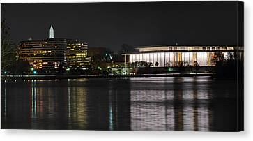 Kennery Center For The Performing Arts - Washington Dc - 01131 Canvas Print by DC Photographer