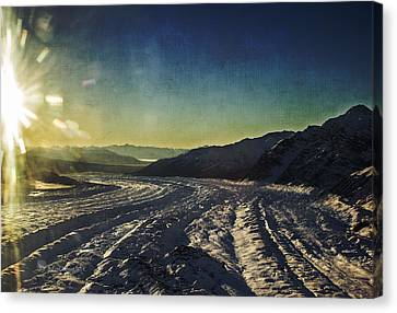 Kennicott Glacier Canvas Print