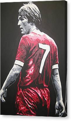 Kenny Dalglish - Liverpool Fc 2 Canvas Print