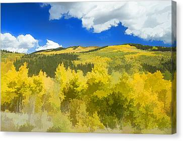 Kenosha Pass Colors Canvas Print