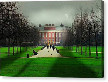 Kensington Palace London Canvas Print by Diana Angstadt