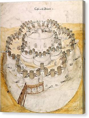 Kent Artillery Fort, 16th Century Canvas Print by British Library