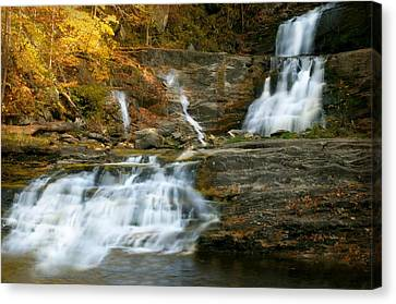 Kent Falls Canvas Print by Diana Angstadt