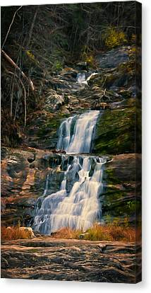 Kent Falls In Autumn Canvas Print