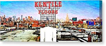 Kentile Floors Canvas Print